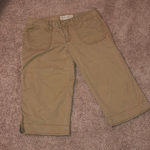 Aeropostale khaki Bermuda shorts